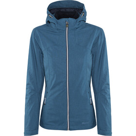 Meru Trollhättan Waterproof 3in1 Jacket Women Poseidon Melange